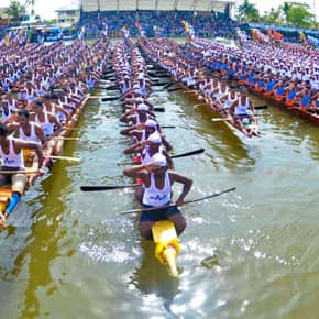 Boat races in Alleppey