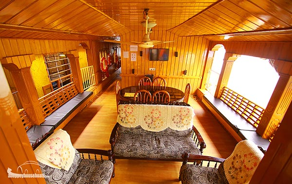 four bedroom budget alleppey houseboats