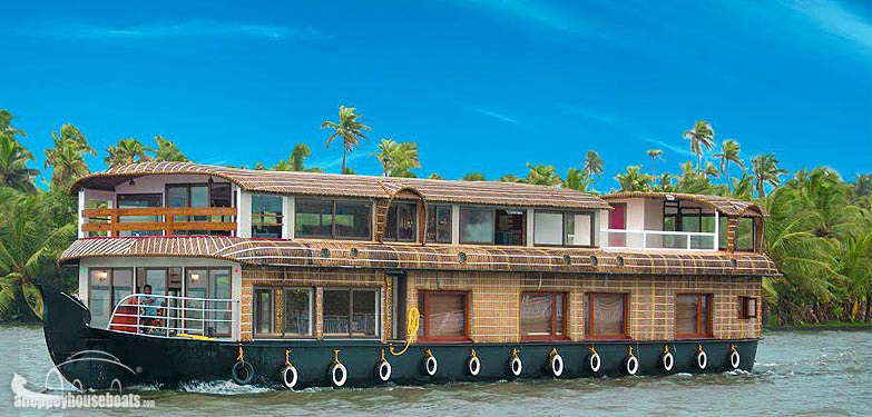 four bedroom super luxury kerala house boats